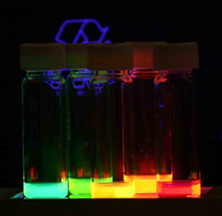 Quantum Dots irradiated with UV