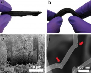 Nano Sponge (from phys.org)